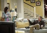 Alexandra Krosney and Tim Allen in ABC&#039;s Last Man Standing.