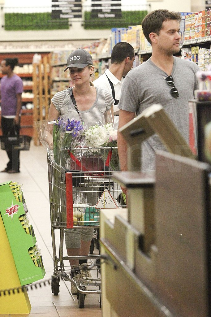 Happy couple Diane Kruger and Joshua Jackson in LA.