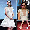 Mila Kunis in White Dress at Friends With Benefits Moscow Premiere