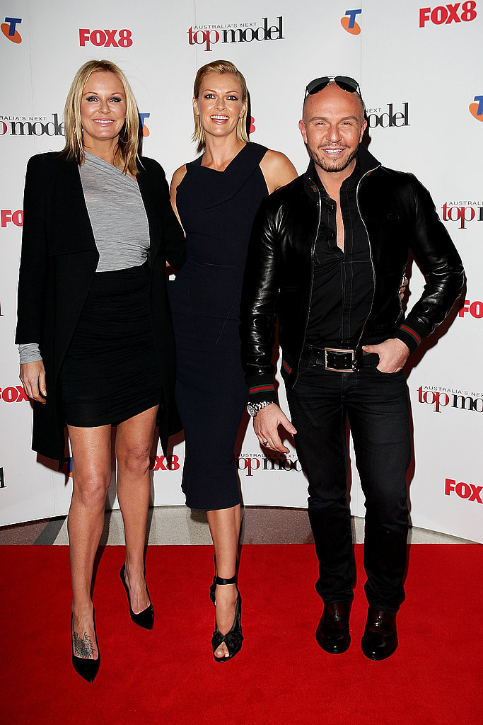 Charlotte Dawson, Sarah Murdoch and Alex Perry