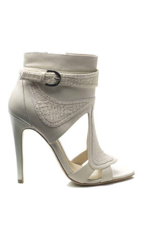 Tongue Stiletto Bootie, $600