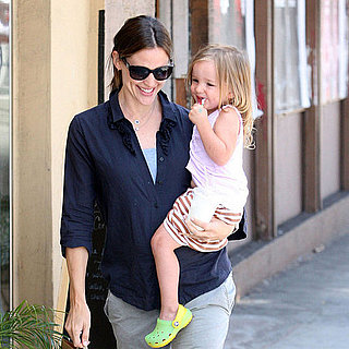 Jennifer Garner and Seraphina Affleck Pictures July 2011