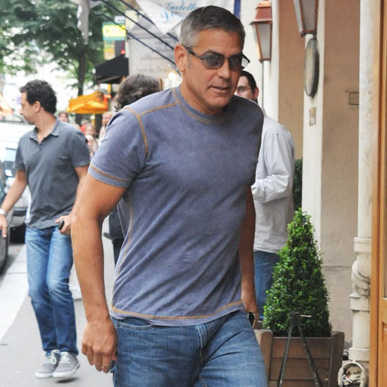 George Clooney Takes Paris and Talks About The Ides of March's Politics