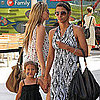 Halle Berry and Nahla Aubry at Century City Mall Pictures