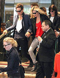 Kate Moss and Jamie Hince Say Farewell to Sydney