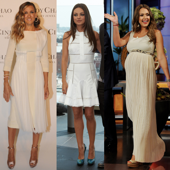 Celebrity Lookbook: Summer Whites