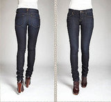 Lou Skinny Jean in Essex Wash, $168