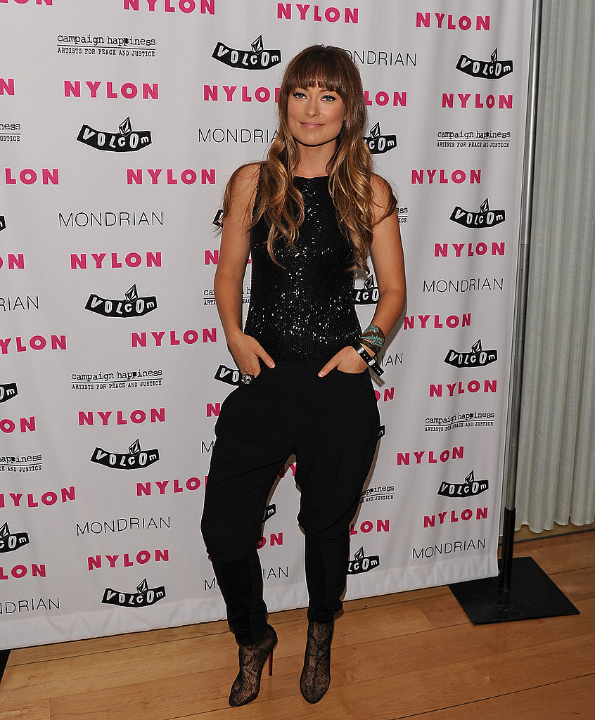Olivia Wilde hosted the launch party.