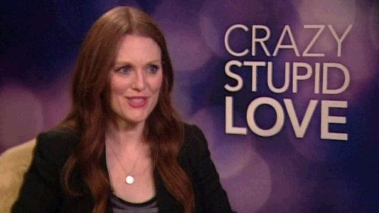"Julianne Moore Has Done Crazy, Stupid Things Like ""Drive-Bys"" For Love"