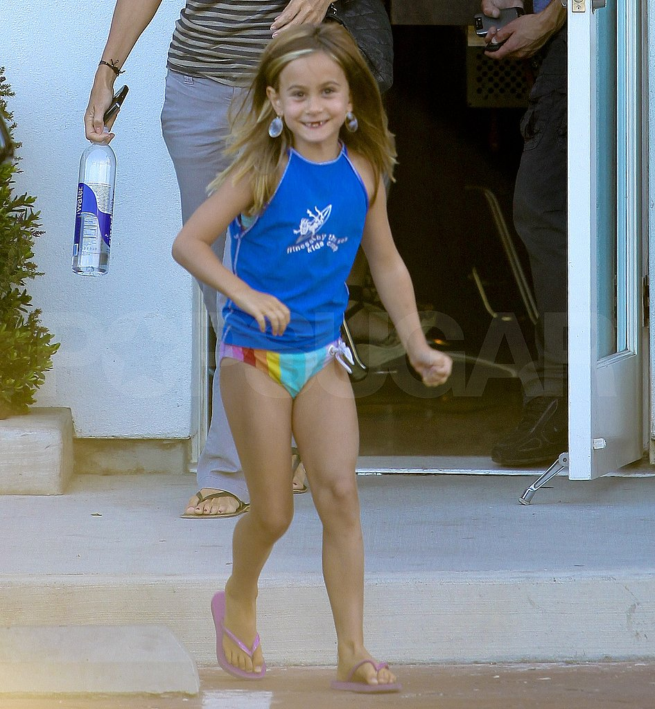 Courteney Cox's daughter, Coco Arquette, in LA.