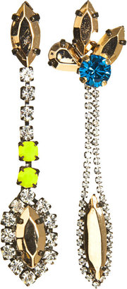 Iosselliani Mismatched Drop Earrings ($210)