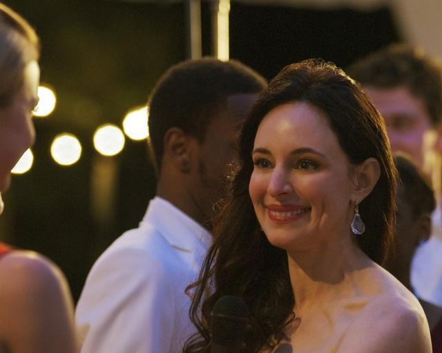 Madeleine Stowe in ABC's Revenge.  Photo copyright 2011 ABC, Inc.