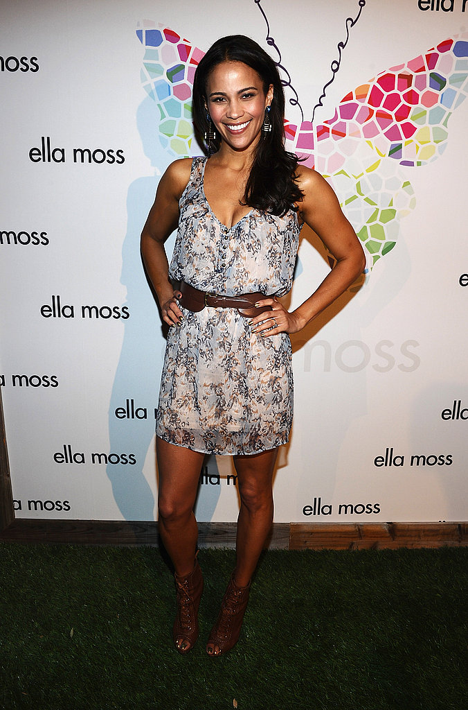 Paula Patton at an Ella Moss party.