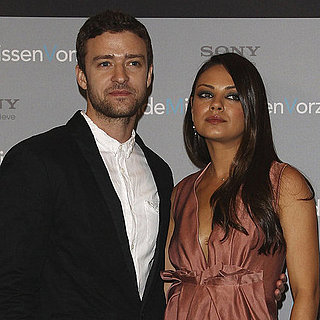 Mila Kunis and Justin Timberlake in Berlin Pictures