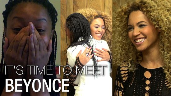 Video: Beyoncé Knowles I'm a Huge Fan: Meeting Beyoncé and the Big Performance!