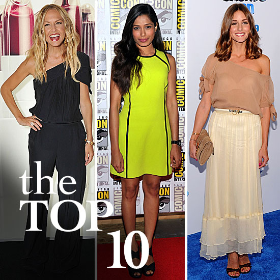 Fab's Top 10 Celebrity Looks of the Week — Rachel, Freida, Olivia, and More!
