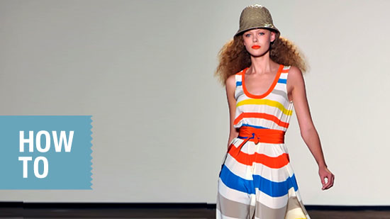 FabSugarTV: How To Wear Bold Stripes!
