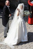 Zara Phillips Makes a Beautiful Bride in a Veil, Tiara, and Stewart Parvin Gown at Her Own Royal Wedding
