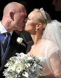 Zara Phillips and Mike Tindall seal it with a kiss!