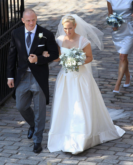 Zara Phillips and Mike Tindall are married!