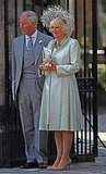 Camilla, Duchess of Cornwall, stands with her husband, Prince Charles.