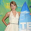 Taylor Swift Pictures and Quotes at 2011 Teen Choice Awards