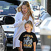 Kate Hudson and Matthew Bellamy Take Ryder to Brunch Pictures