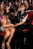 Justin Bieber and Selena Gomez Get Playful With the PDA at the TCAs