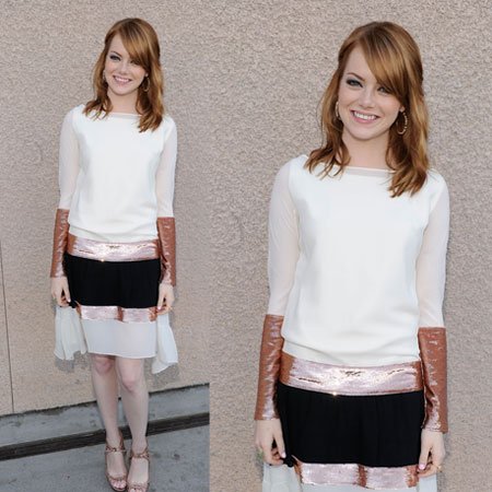 Emma Stone at 2011 Teen Choice Awards