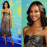 Zoe Saldana at 2011 Teen Choice Awards