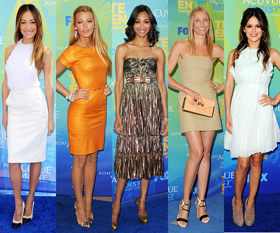 The Best Dressed of the Teen Choice Awards