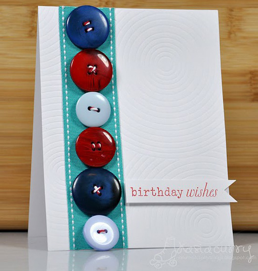 Embellish a Birthday Card