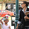 Jennifer Garner Pictures Dropping Violet Affleck at Ballet Class