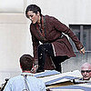 Marion Cotillard Pictures Shooting The Dark Knight Rises
