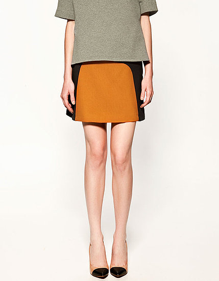 Two Tone Miniskirt, $69.90
