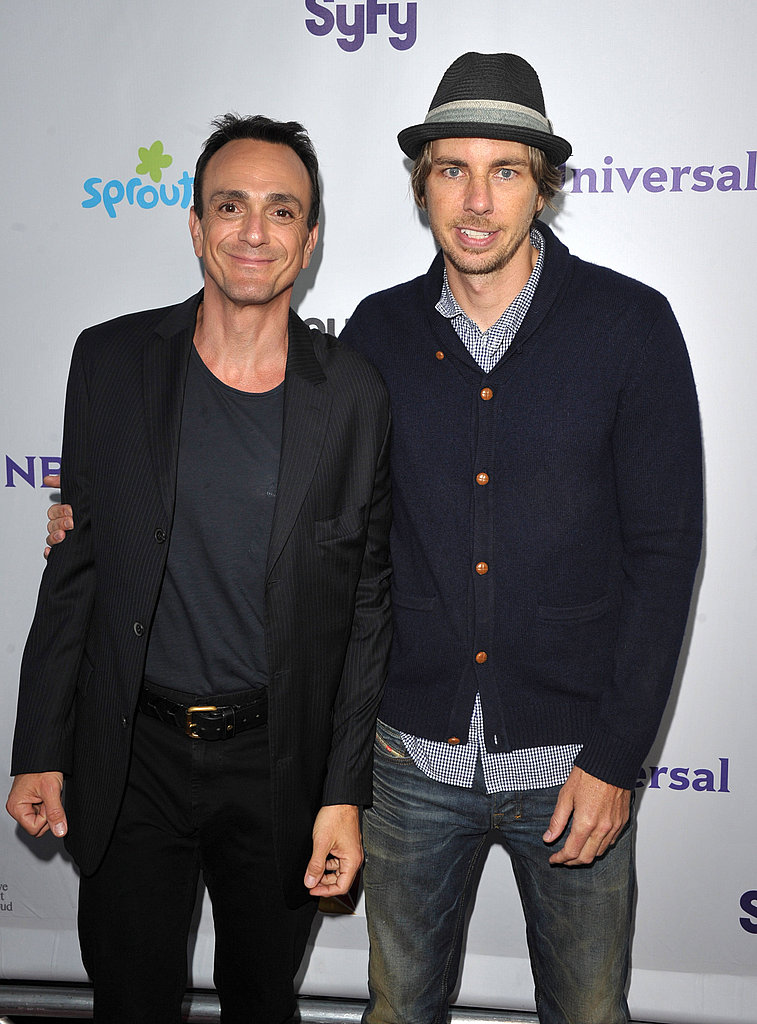 Dax Shepard and Hank Azaria.