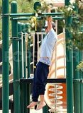 Zac Efron did a few pull-ups.
