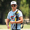 Zac Efron Using TRX to Work Out in New Orleans