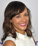 Rashida Jones smiles.