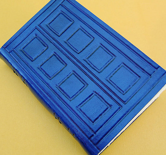 Tardis Hand-Bound Notebook ($42)