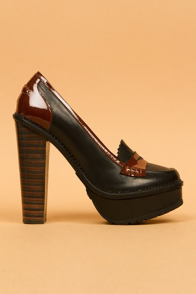 Opening Ceremony Latetita Stacked Heel Loafer ($600)