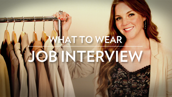 How to Dress For Every Job Interview!
