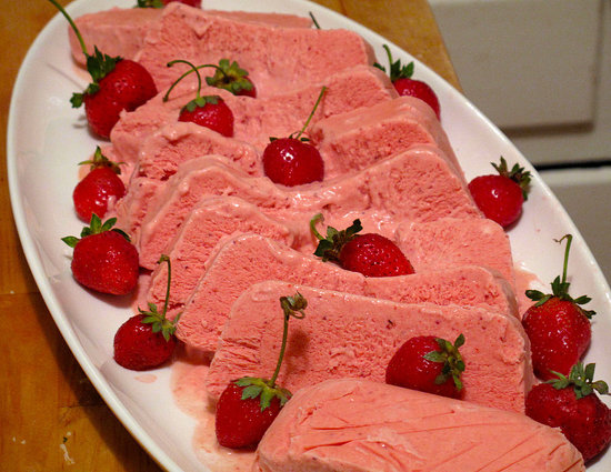 Strawberry Semifreddo