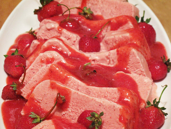 Pictures of Strawberry Semifreddo Recipe