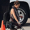 Jennifer Lopez on Set in Atlanta, GA, Pictures