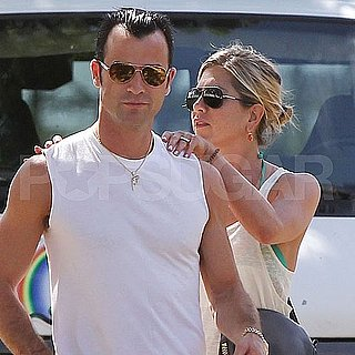 Jennifer Aniston und Justin Theroux Fotos auf Hawaii