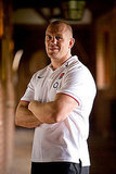 Mike Tindall in his England jersey.