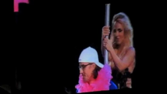 Video: Britney Spears Gives Jason Trawick a Sexy Lap Dance