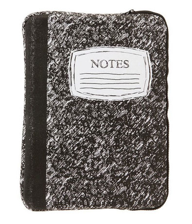 Notes Laptop Case ($28)