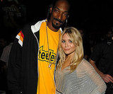 Snoop Dogg towered over tiny Ashley Olsen in the audience of the 2006 event.